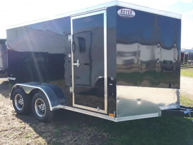 2019 Formula Trailers 7X12 Conquest Enclosed Cargo Trailer