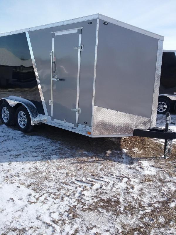 "7x14 (+6"" Additional Height) Stealth Titan Enclosed Cargo Trailer with Flash Package*HAIL DAMAGED-CALL FOR DISCOUNT PRICING*"