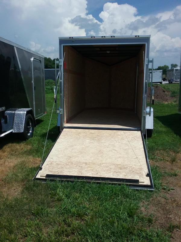 6X10 Stealth Mustang Enclosed Cargo Trailer