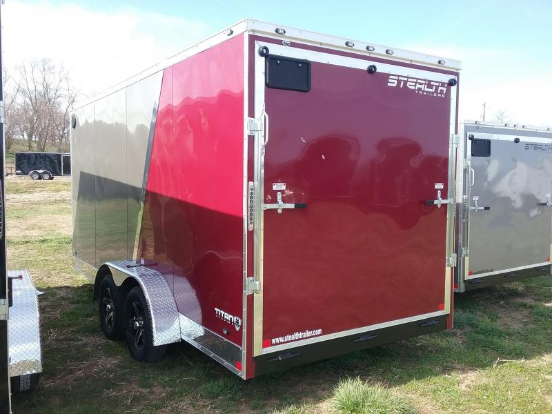 7X16 Stealth Titan Enclosed Cargo Trailer