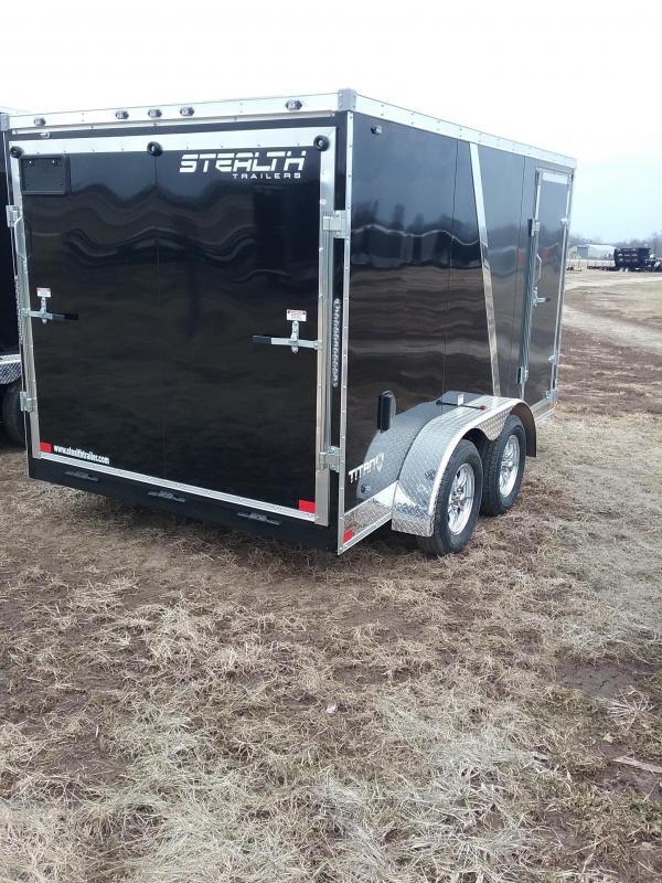 2019 Stealth 7x12 Titan Enclosed Cargo Trailer