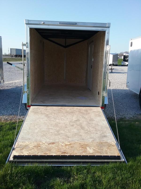 6X10 Impact Tremor Enclosed Cargo Trailer
