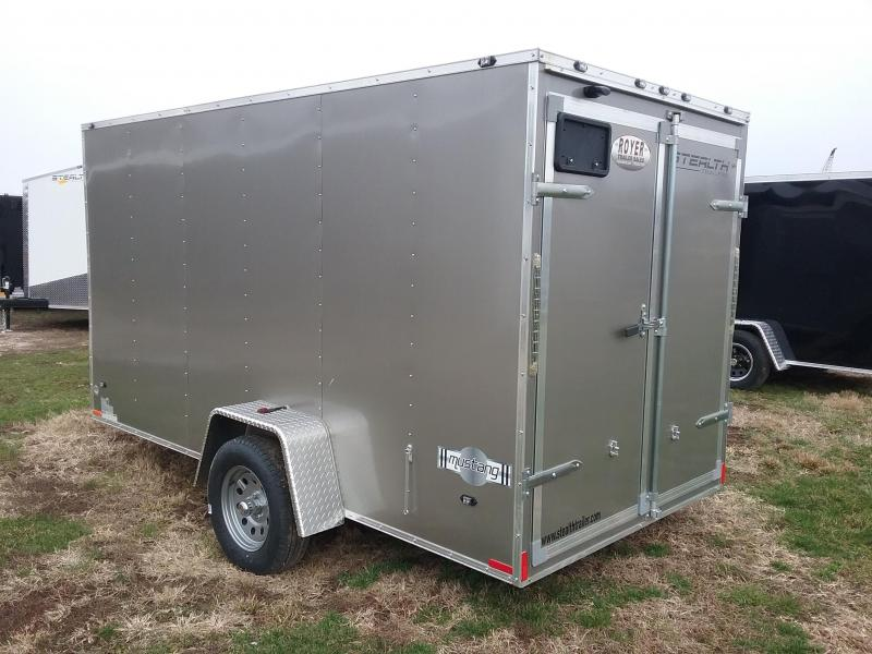 Stealth 6X12 Mustang Enclosed Cargo Trailer