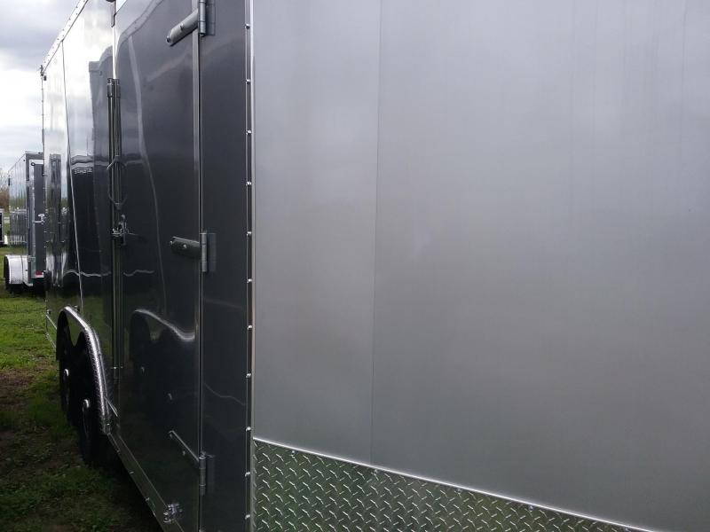 """8.5x16 (+6"""" Additional Height) Stealth Titan Enclosed Trailer with 5200# Axles*HAIL DAMAGED-CALL FOR DISCOUNT PRICING*"""