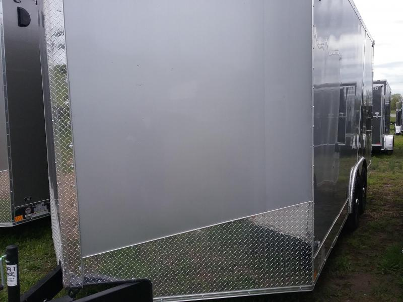 "8.5x16 (+6"" Additional Height) Stealth Titan Enclosed Trailer with 5200# Axles*HAIL DAMAGED-CALL FOR DISCOUNT PRICING*"