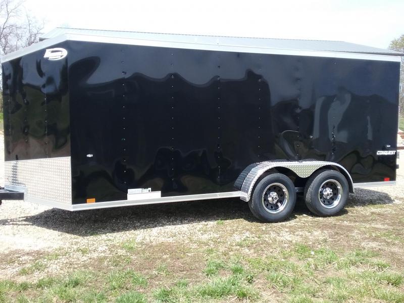 2020 Formula Trailers 7x16 Enclosed Cargo Trailer