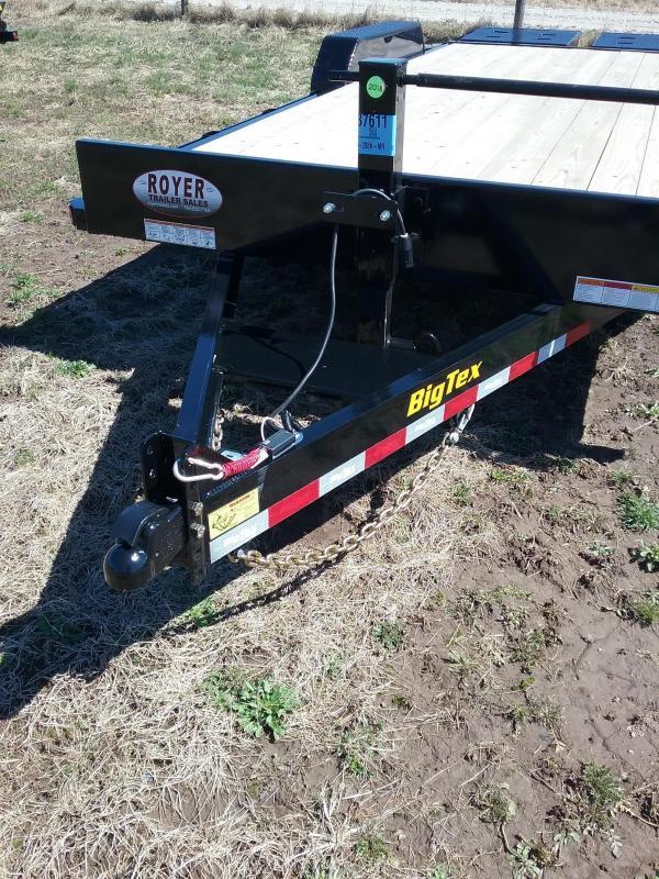 20' Big Tex Equipment Trailer with Mega Ramps