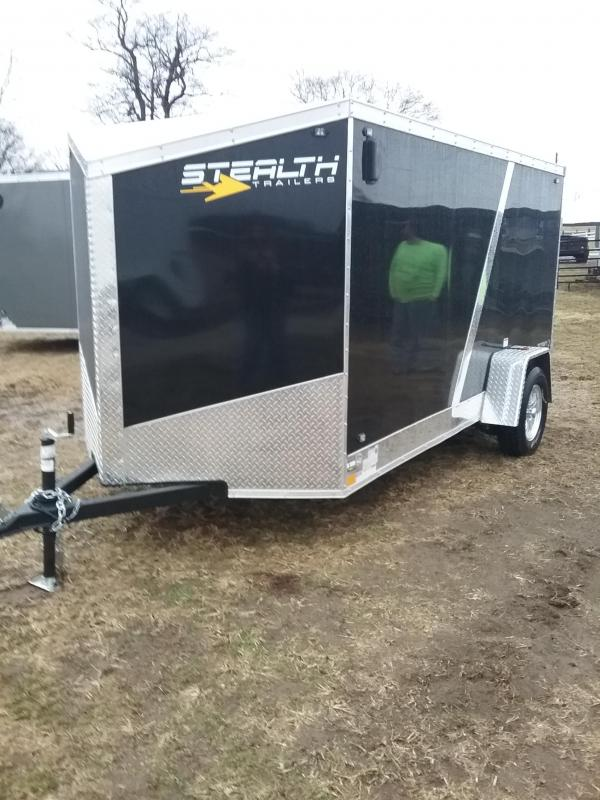 "2019 Stealth 6x12 Titan (-6"" Reduced Height) Enclosed Cargo Trailer"