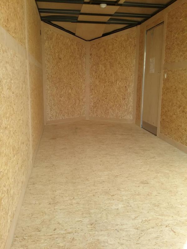 """7x16 (+12"""" Additional Height) Stealth Titan Enclosed Cargo Trailer"""