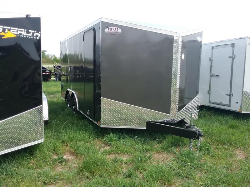 8.5X16 Impact Shockwave Enclosed Cargo Trailer