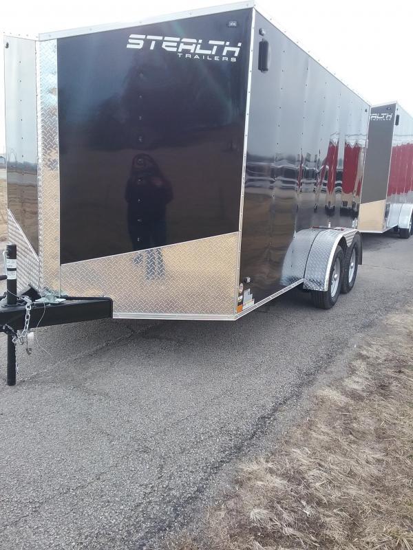 2020 Stealth 7X14 Titan Enclosed Cargo Trailer
