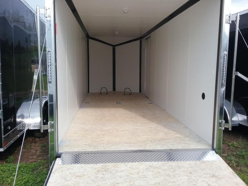 """7x20 (+12"""" Additional Height) Stealth Titan Blackhawk Motorcycle Trailer*HAIL DAMAGED-CALL FOR DISCOUNT PRICING*"""