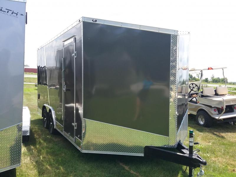 8.5X16 Plus 6 Inches Stealth Titan Enclosed Cargo Trailer