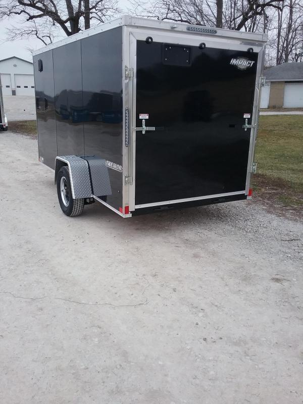 2019 Impact 6x12 Tremor Enclosed Cargo Trailer