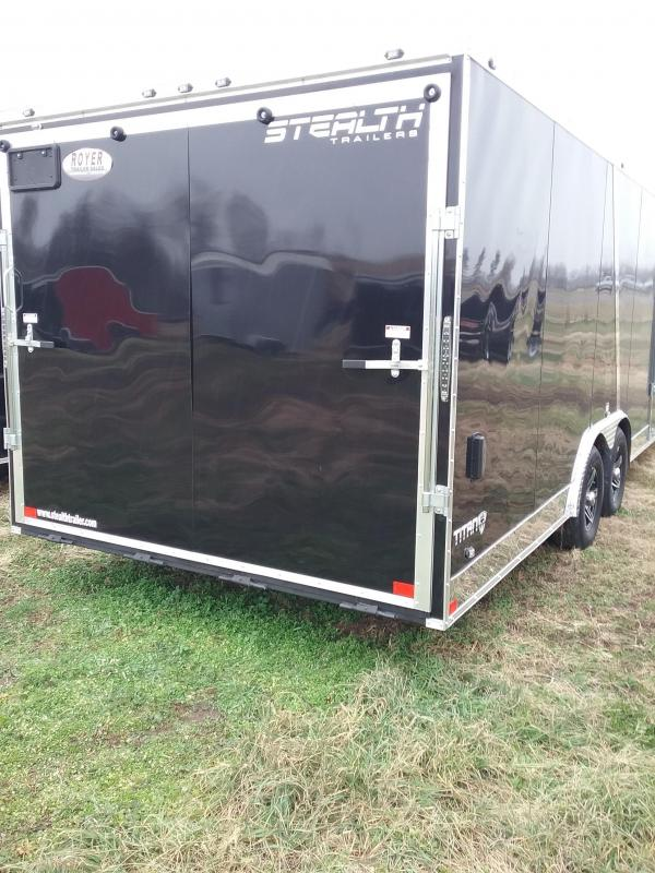 8.5x24 2019 Stealth Titan Enclosed Cargo Trailer