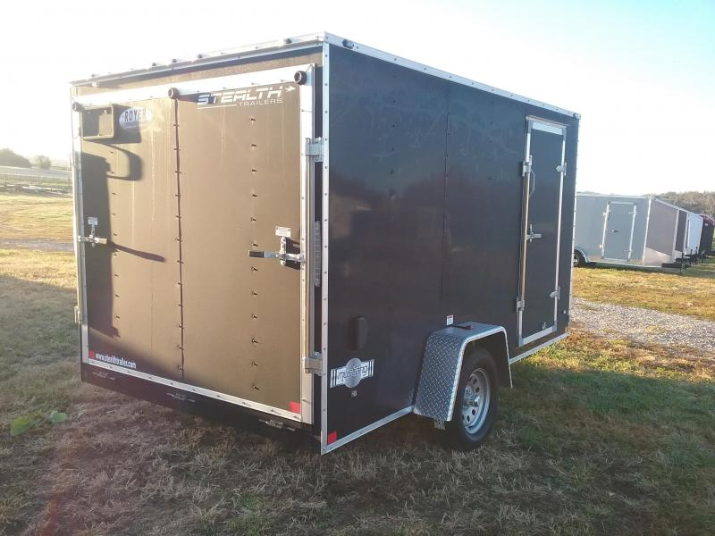 2019 Stealth Mustang 7x12 Enclosed Cargo Trailer