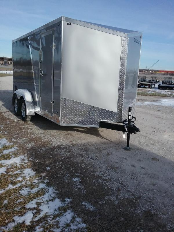 """7x14 (+6"""" Additional Height) Stealth Titan Enclosed Cargo Trailer"""