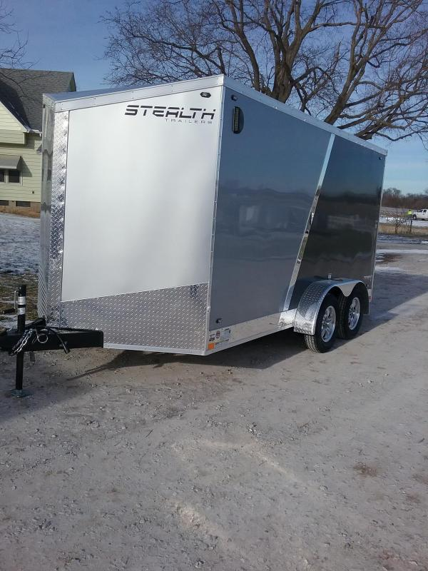 "7x14 (+6"" Additional Height) Stealth Titan Enclosed Cargo Trailer"