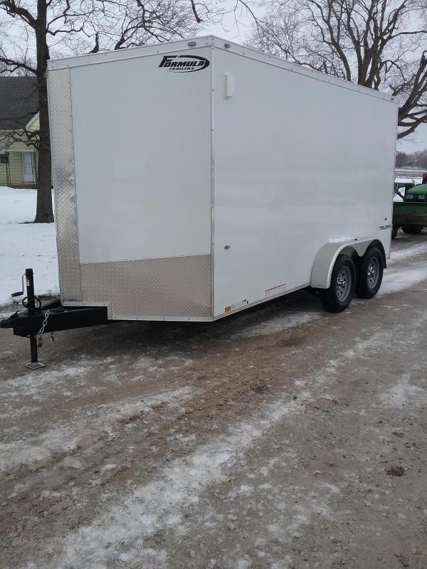 2019 Formula 7x14 Conquest 12 Additional Height Enclosed Cargo Trailer