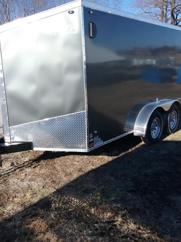 2019 7x12 Stealth Titan Enclosed Cargo Trailer