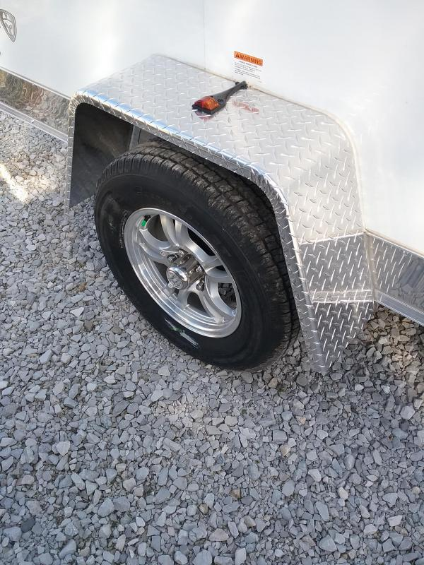 6x12 Stealth Titan Enclosed Cargo Trailer with Flash Package