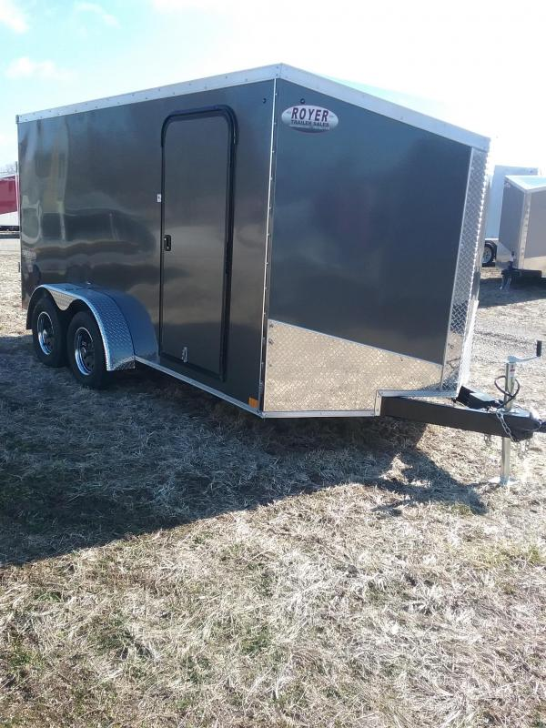 7x14 Impact Tremor Enclosed Cargo Trailer*HAIL DAMAGED-CALL FOR DISCOUNT PRICING*