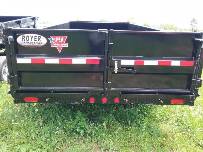 "PJ Low Pro HD Dump Trailer with Tarp 83""X16'"