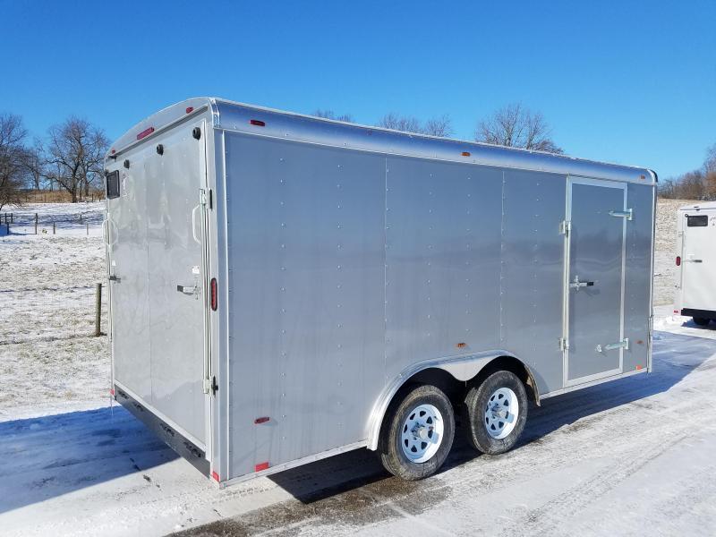 2018 Atlas 8X14 7K Enclosed Cargo Trailer