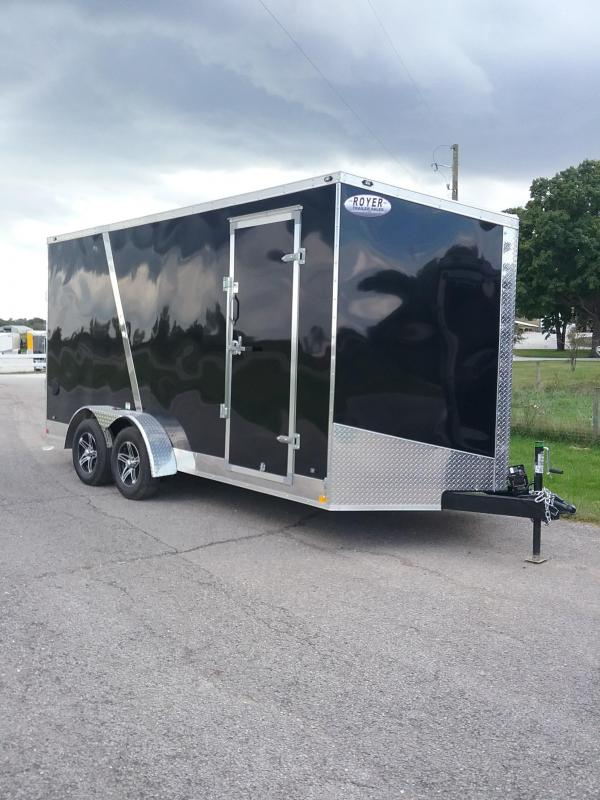 "2019 Stealth Trailers Titan 7x16 12"" Enclosed Cargo Trailer"