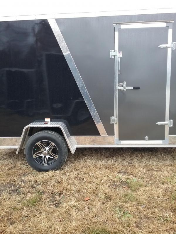 6x12Stealth Titan Enclosed Cargo Trailer with Flash Package