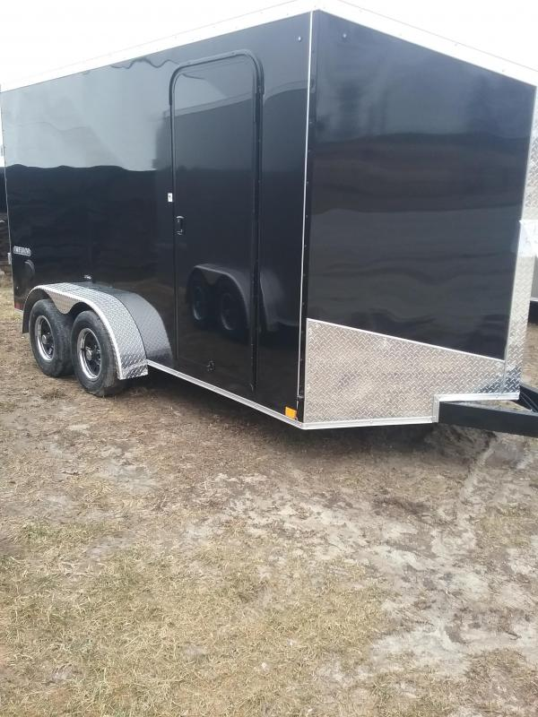 "2019 Impact 7x14 (+6"" Additional Height) Tremor Enclosed Cargo Trailer"