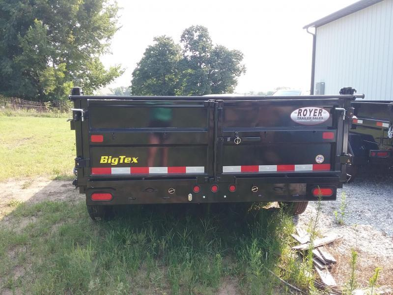 "83""X16' Big Tex Dump Trailer"