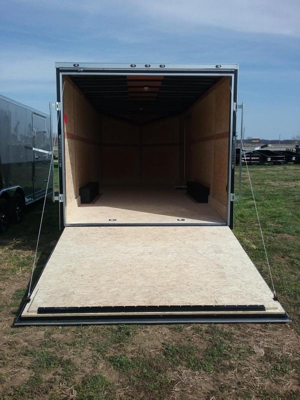 8.5X20 Plus 6 Inches Enclosed Cargo Trailer