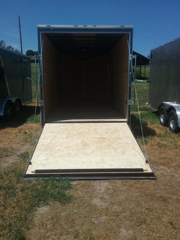 7X16 (Plus 12 Inches Interior Height) Stealth Mustang Enclosed Cargo Trailer