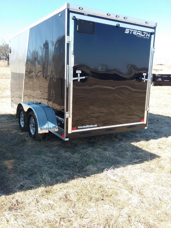 "7X14 (+6"" Additional Height) Stealth Titan Enclosed Cargo Trailer  With Flash Package"