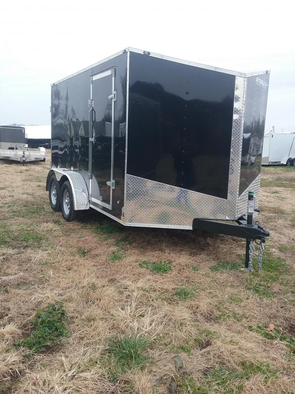 2019 Stealth Trailers Mustang 7x12 Enclosed Cargo Trailer