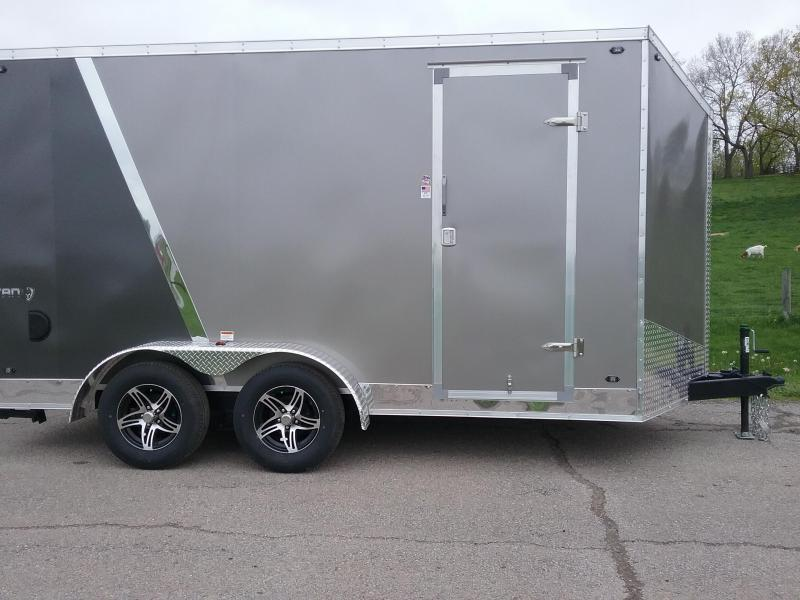 """7x14 (+12"""" Additional Height) Stealth Titan with Rear Stabilizer Jacks*HAIL DAMAGED-CALL FOR DISCOUNT PRICING*"""