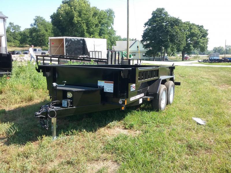 6X12 Liberty Low Pro Dump Trailer