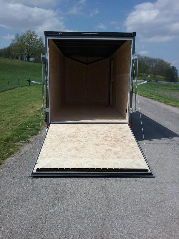 7X16 Plus 12 Inches Impact Shockwave Enclosed Cargo Trailer