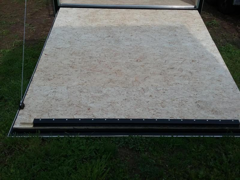 """7x18 (+12"""" Additional Height) Stealth Titan Enclosed Cargo Trailer*HAIL DAMAGED-CALL FOR DISCOUNT PRICING*"""