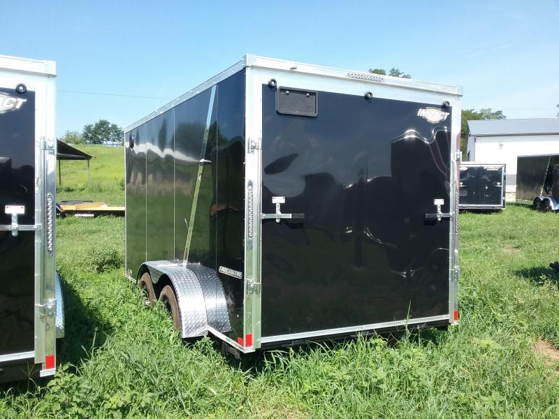 """7X14 (+6"""" Extra Height) Impact Shockwave Enclosed Cargo Trailer"""