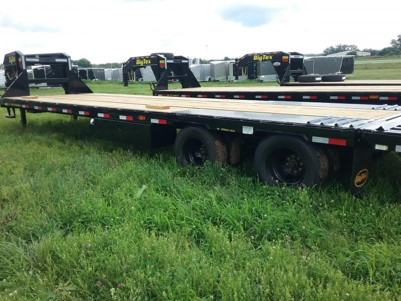 22GN 35 Foot Big Tex Gooseneck Equipment Trailer