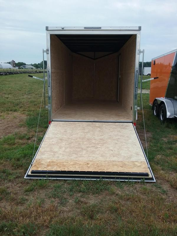 "7X16 (+12"" Extra Interior Height) Impact Tremor Enclosed Cargo Trailer"
