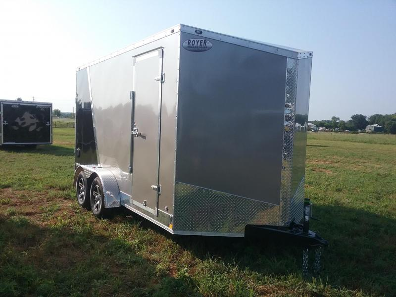 "7X14 (+12"" Extra Inerior Height) Stealth TitanEnclosed Cargo Trailer"