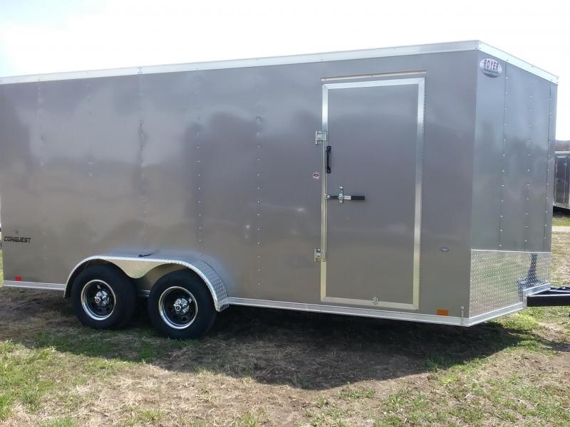 7x16 Forumla Conquest Enclosed Cargo Trailer