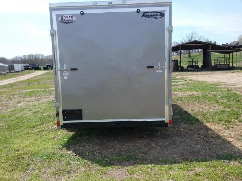 7x16 Forumla Conquest Enclosed Cargo Trailer *HAIL DAMAGED-CALL FOR DISCOUNT PRICING*