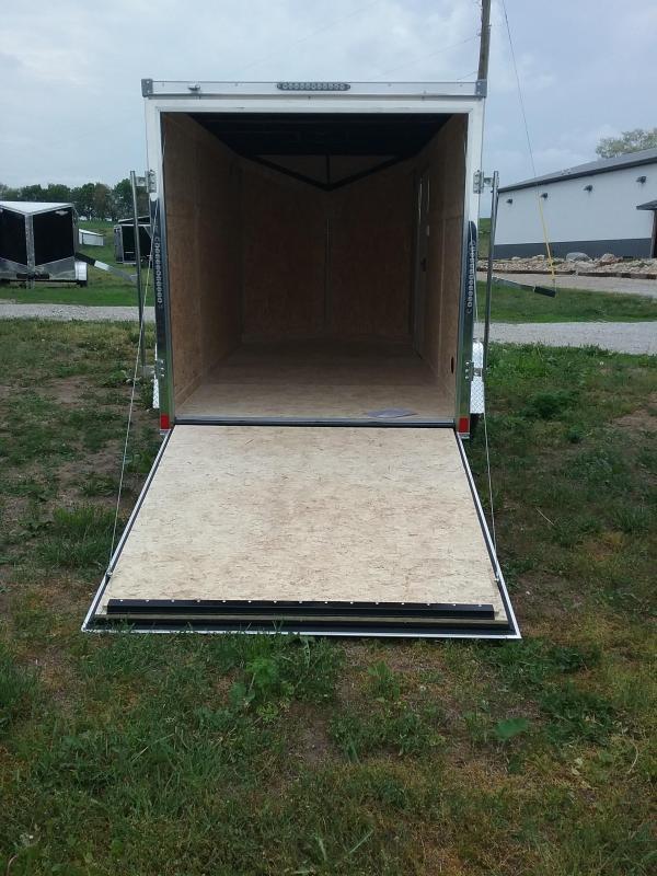 6X12 Impact Tremor Enclosed Cargo Trailer