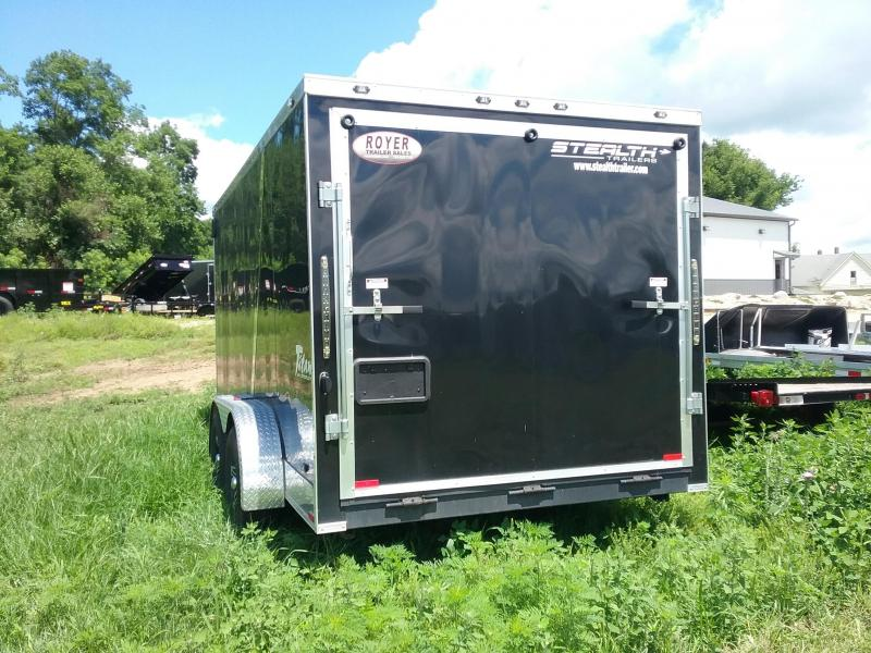 USED 7x14 Stealth Titan Enclosed Cargo Trailer