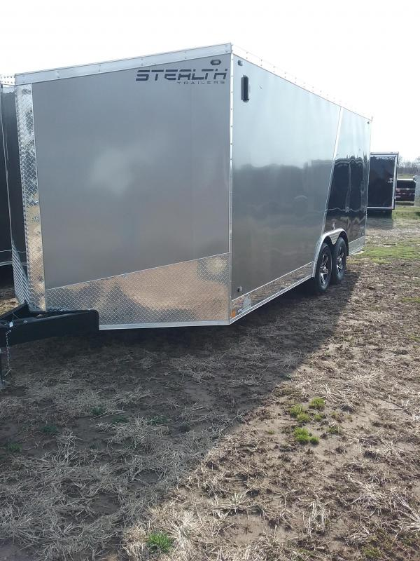 8.5x18 Stealth Titan Enclosed Trailer with 5200# Axles