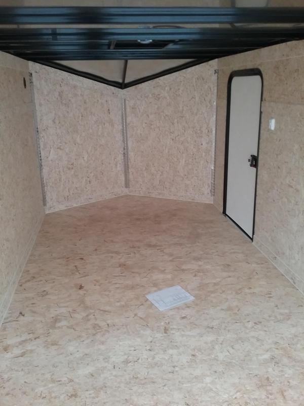 "7x14 (-6"" Reduced Height) Impact Shockwave Enclosed Cargo Trailer"